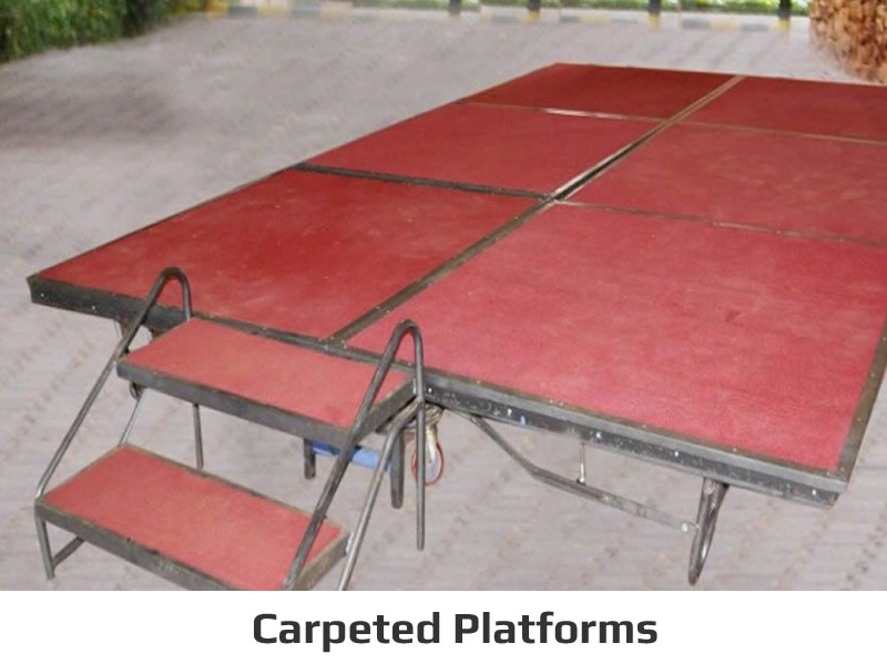 Carpeted Platforms