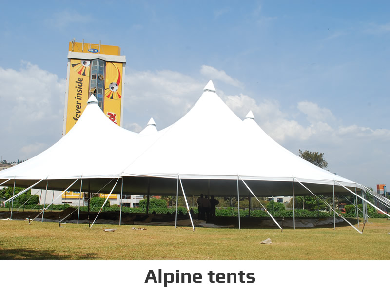 Alpine tents